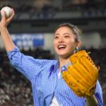【石原さとみ】6年分の始球式まとめ 笑顔が可愛い!投球が凄い!